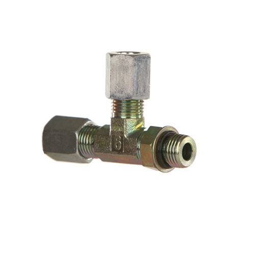 Flareless compression tube fittings sae parker r bu