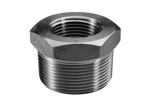 Stainless steel forged pipe fittings threaded hex