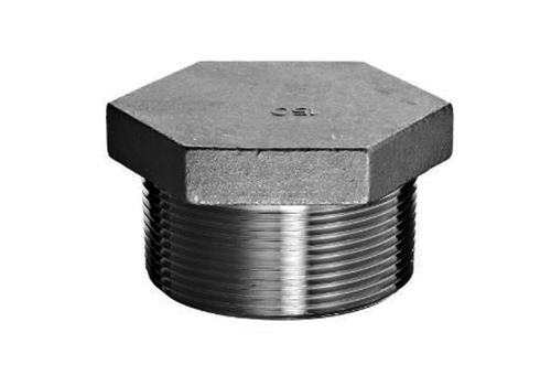 Stainless Steel Forged Pipe Fittings 150 150 Hex Head