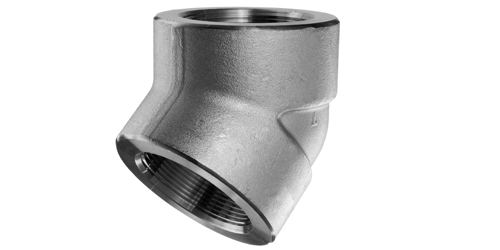 Stainless steel forged pipe fittings threaded