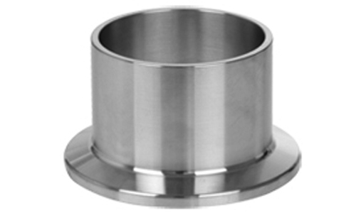 Clamp end sanitary long weld ferrule stainless steel