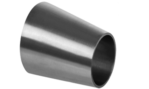 Weld end sanitary eccentric reducer stainless steel