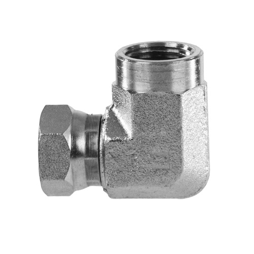 Female npt to swivel elbow ss stainless