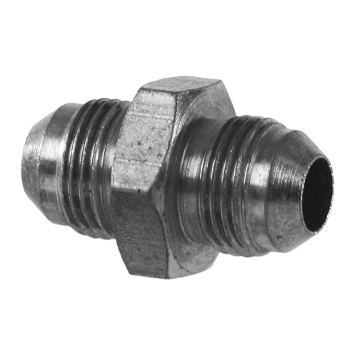 Jic an sae flare male tube large union ss lh