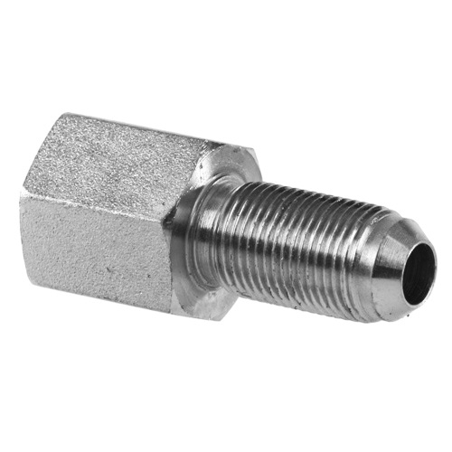 Npt female pipe to jic an bulkhead straight ss