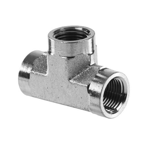 Npt pipe female tee ss stainless steel fittings