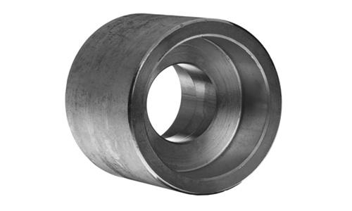 Stainless steel socket weld reducing coupling fittings
