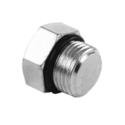 Push To Connect Fittings >> SAE O-Ring Boss ORB to Head Plug-SS-6408| Stainless Steel ...