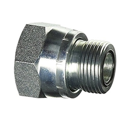 Ss Fs2406 Sae O Ring Face Seal Orfs Swivel Nut Reducer